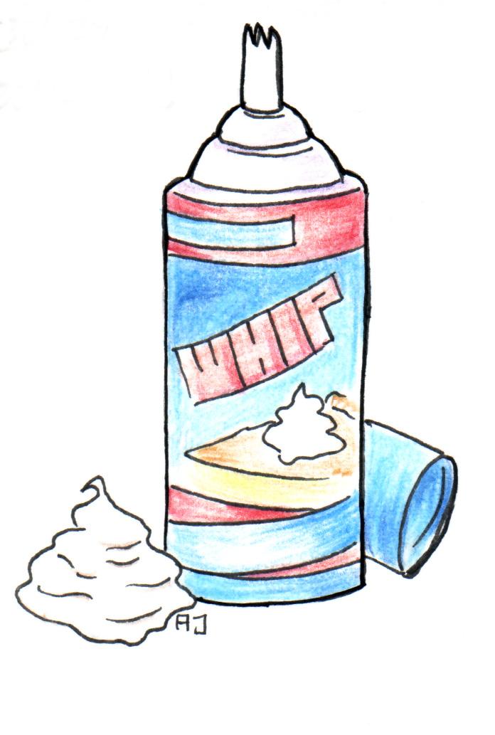 can o' whipped cream by Nin-jueTheKirin on DeviantArt