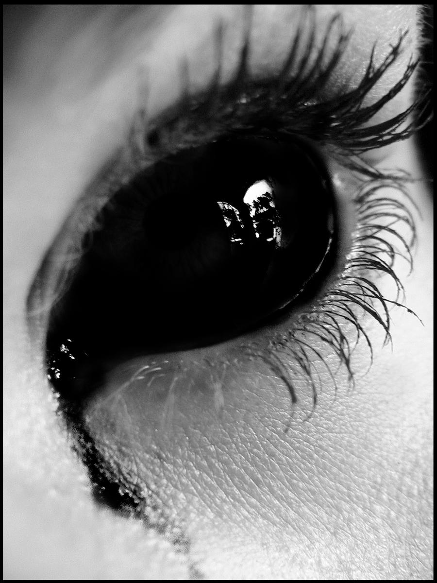 Как сделать черные слёзы
