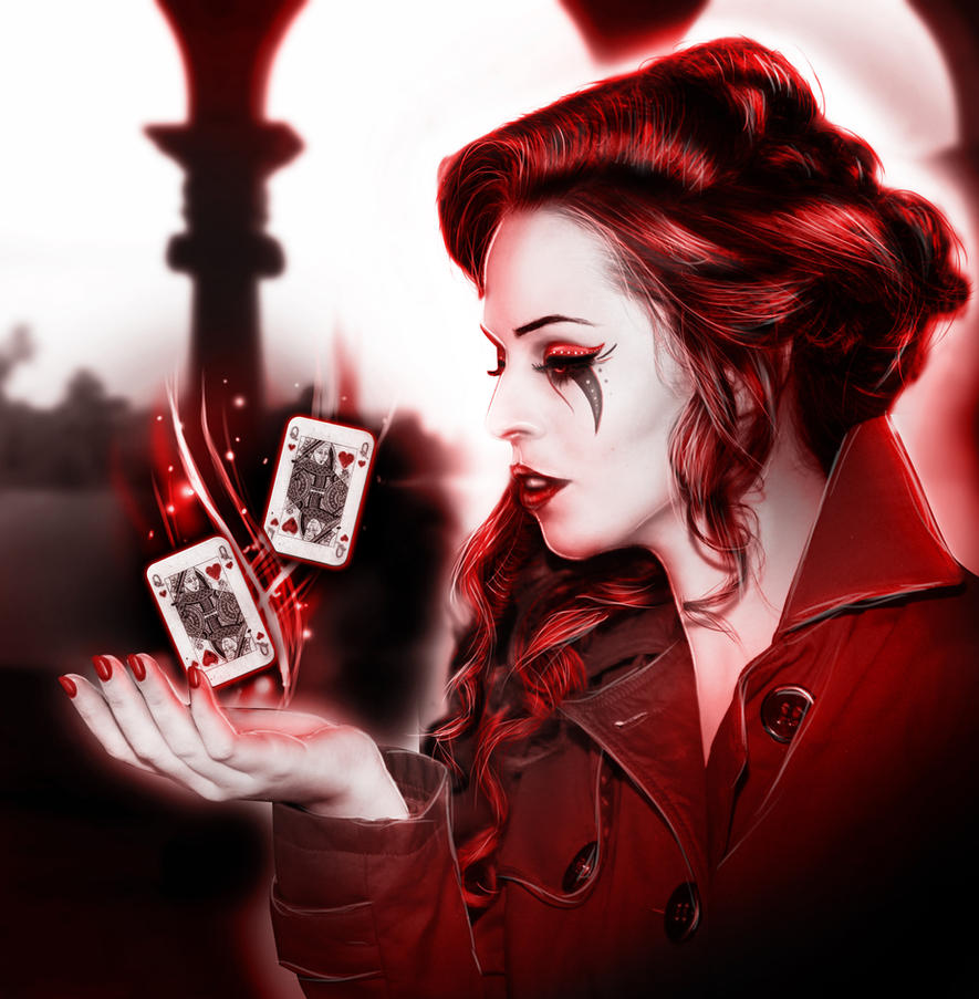 Queen of hearts by InsanityIsMyReality