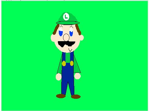 Luigi (Request) by NinMaster712