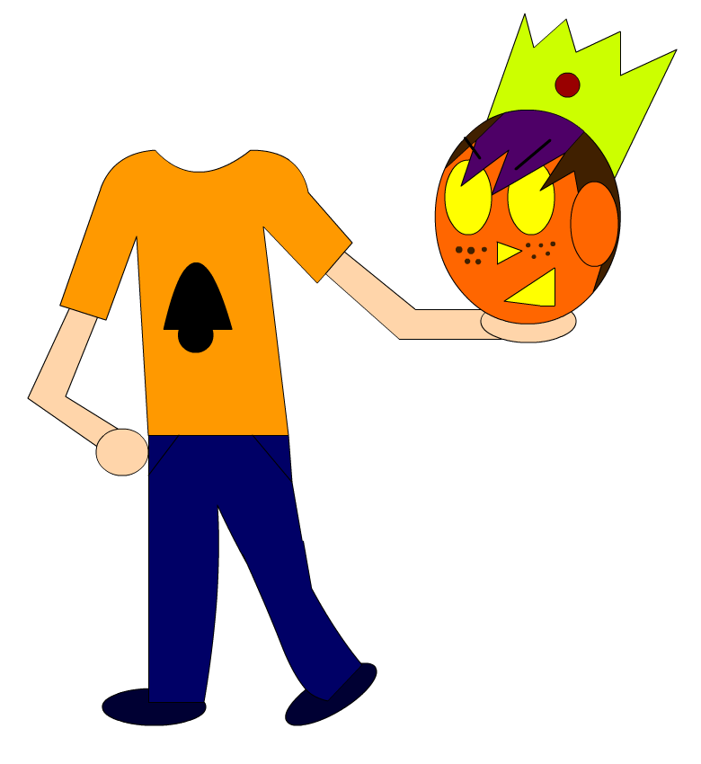 Nin the Pumpkin-Head by NinMaster712