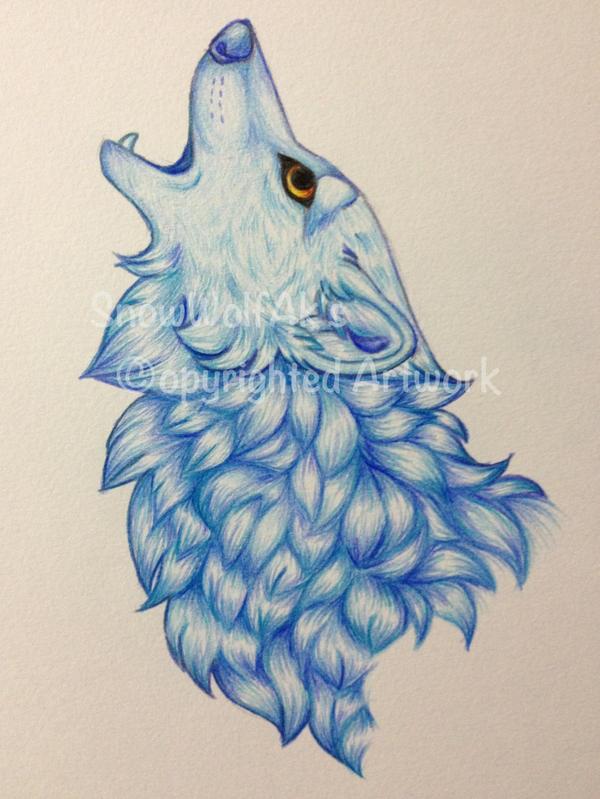 Blue Sketch by Galaxiesis