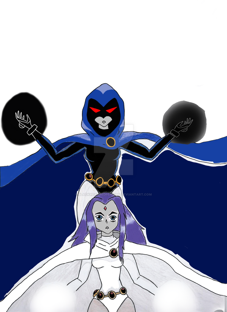 Raven WIP by blackheartedpenguin