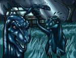 Raptors In The Long Grass