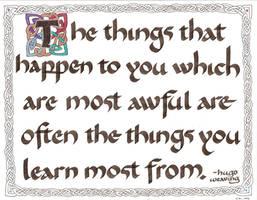 Hugo Weaving Quote by elhalfling