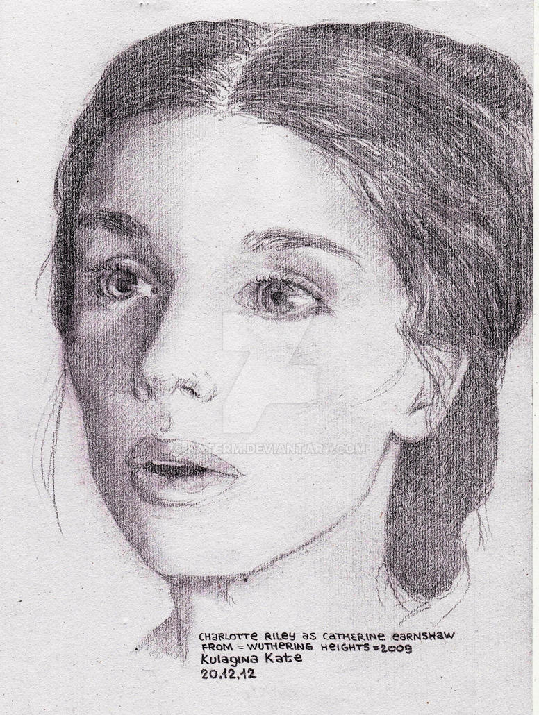 Charlotte riley as catherine earnshaw by katerm
