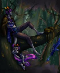 A Forest Break by Lizardlicks