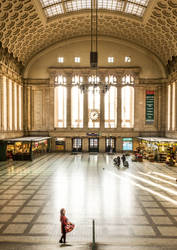 Leipzig main station by Netrayil