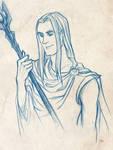 Curunir in Valinor