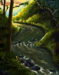 Flowing into Lorien