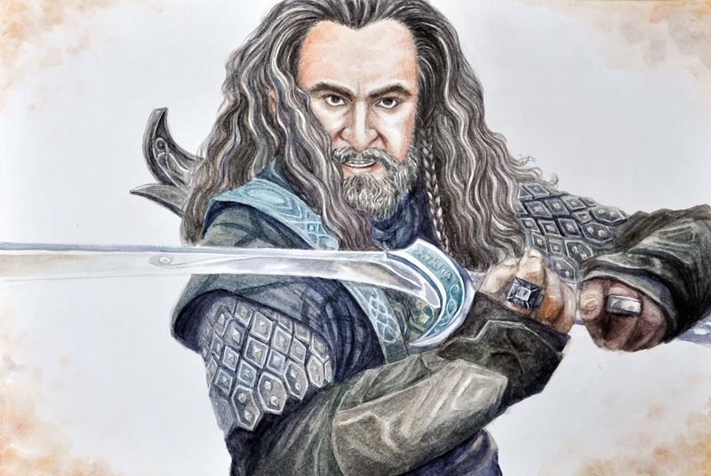 Thorin Oakenshield by vigshane