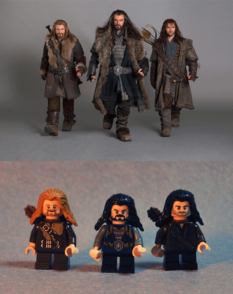 Hot LEGO Dwarves by vigshane