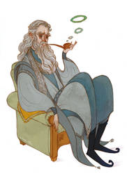 Gandalf and his Pipe