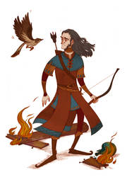 Bard and the thrush
