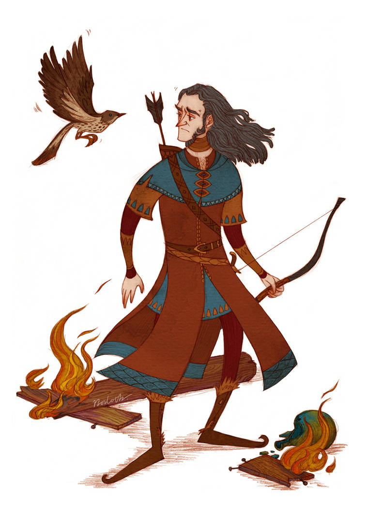 Bard and the thrush by Norloth