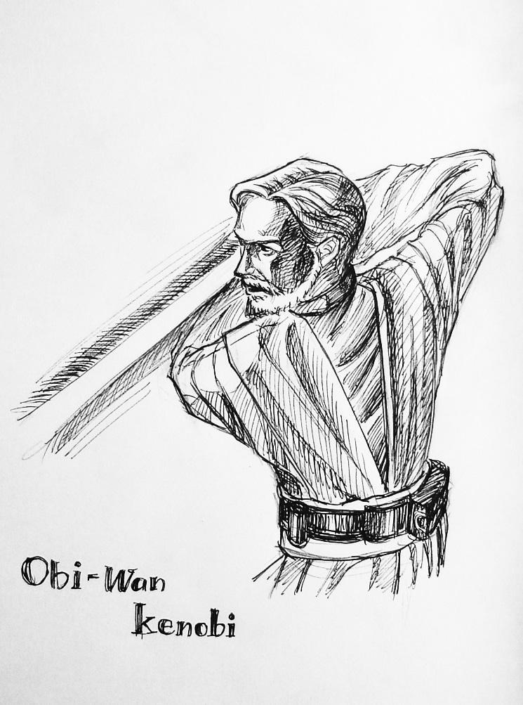 Master Kenobi by vigshane