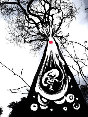 tree child by BlueBerryMouseYumi