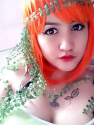 My Poison Ivy cosplay.. amateur -.-