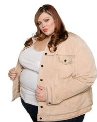 A Visual Aid of Kristen at 530 Pounds by FatSuperHero
