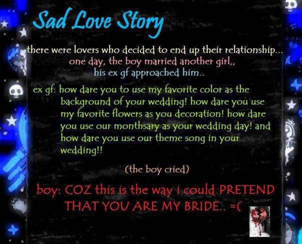 sad love story.... by xxice on DeviantArt