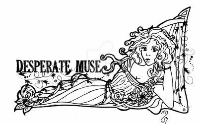 Desperate Muse logo banner