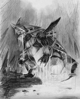 Mega Aggron by SquirrlMongr