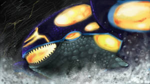 Primal Kyogre by SquirrlMongr