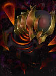 Giratina by SquirrlMongr