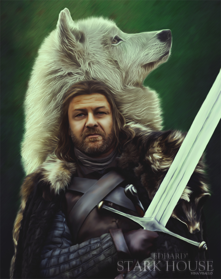 Eddard Stark by OfficinaOscura