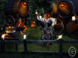 The fairy beer of hobbits by Lapoulenoire