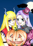 Mu and Shaka Happy Halloween