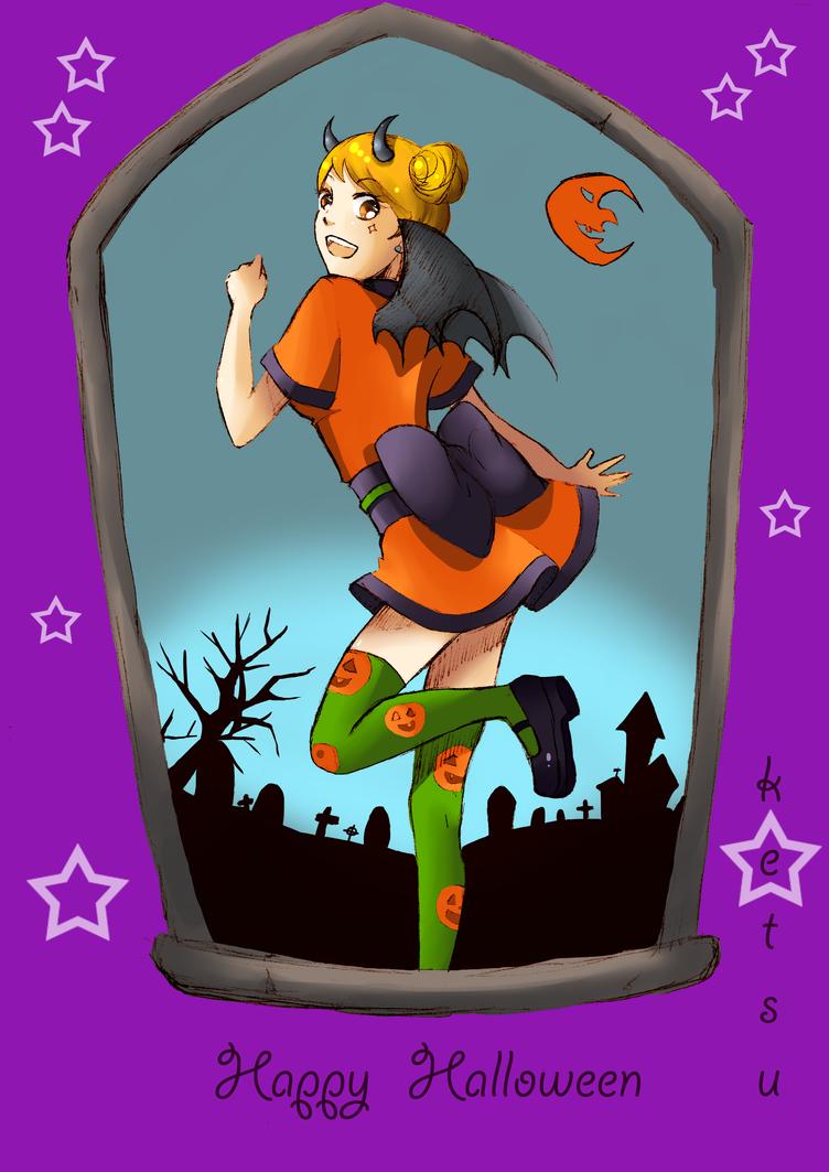 Yumi Halloween by Ketsu000