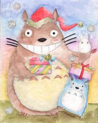 Totoro by Ketsu000