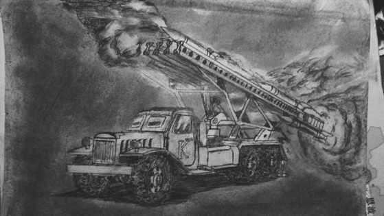 BM-13 Kayusha by caoyeboby