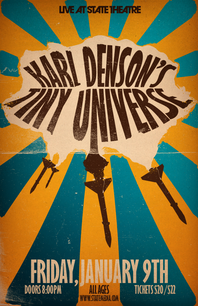 Karl Denson's Tiny Universe by aanoi