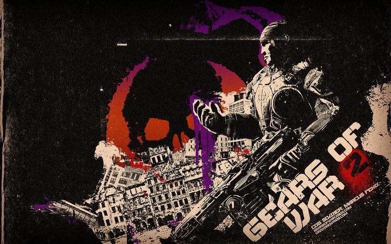 gears of war 2 wallpaper. Gears of War 2 Wallpaper by