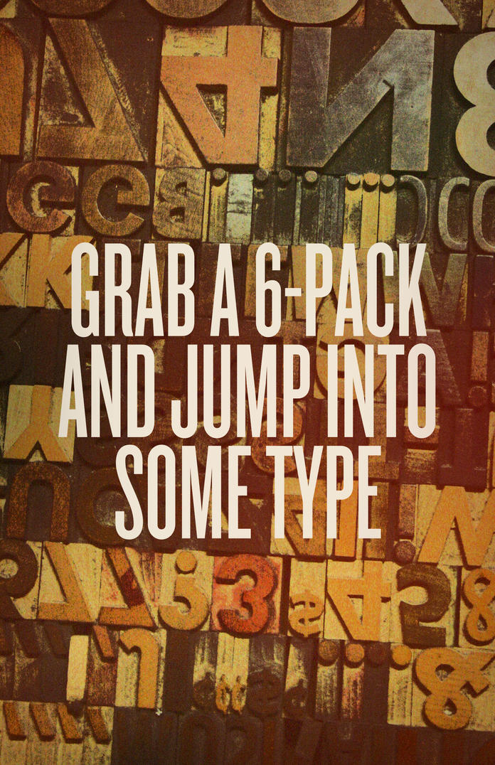 Grab a 6-Pack by aanoi