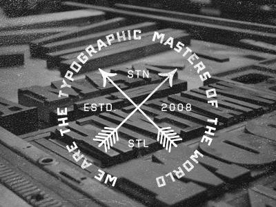 Typographic Emblem by aanoi