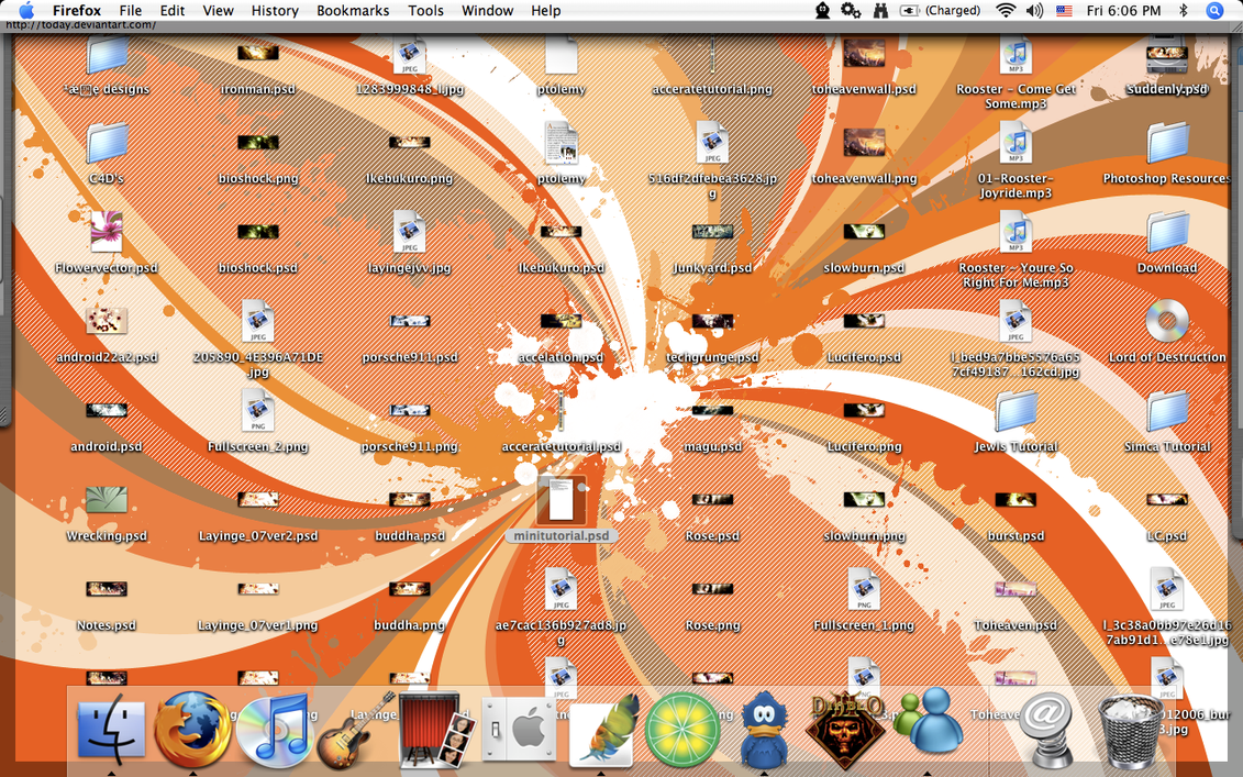 My Desktop by aanoi