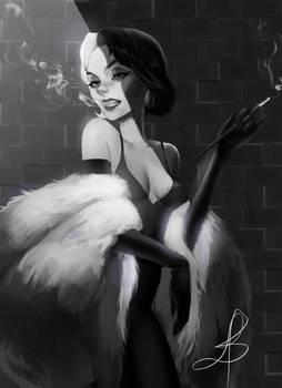 Cruella De Vil (fanart)