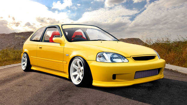 Honda Civic 6G Type-R