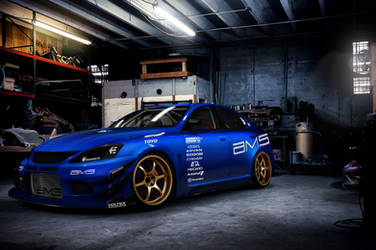 Lexus IS-F Time Attack