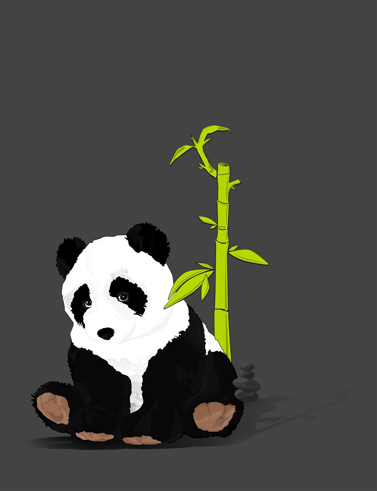 Chinese Panda Vector Panda Vector by Artist00