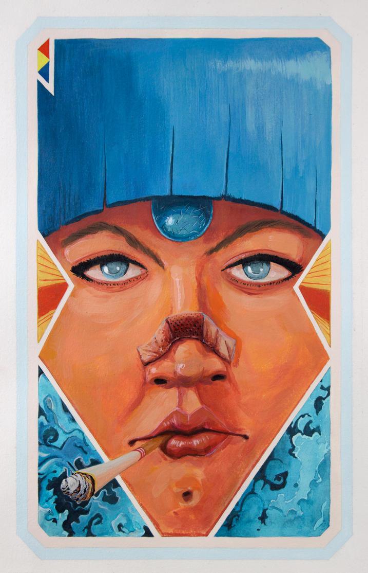 Gem Girl by Jorge-Rosario