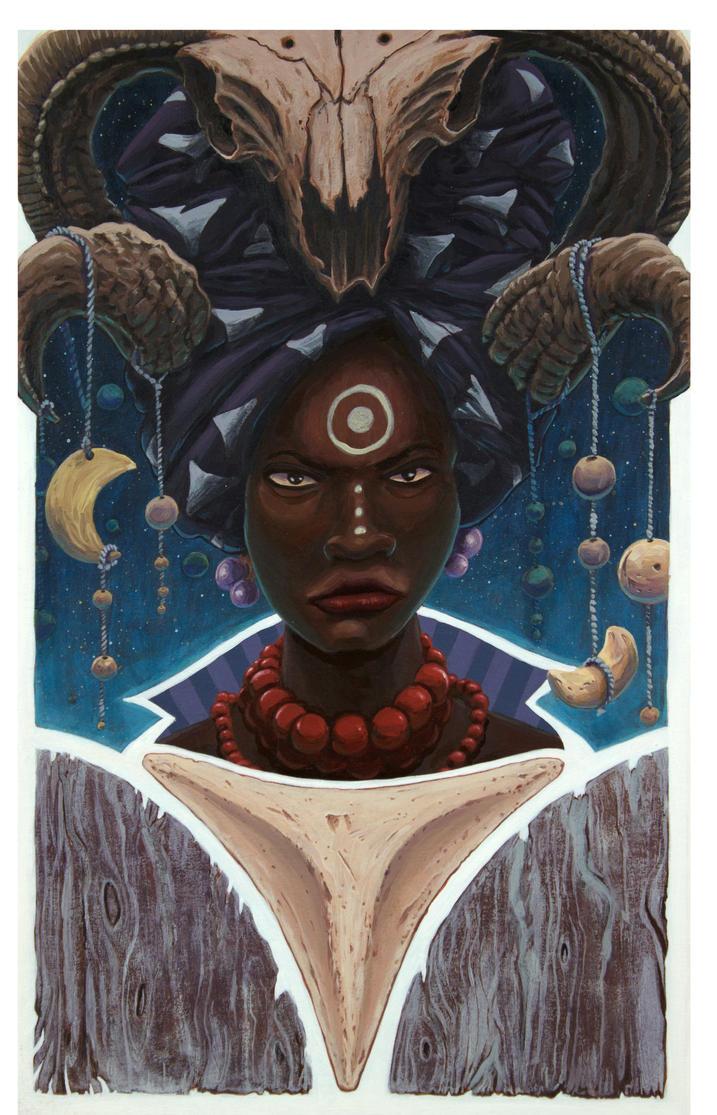 Voodoo Woman by Jorge-Rosario