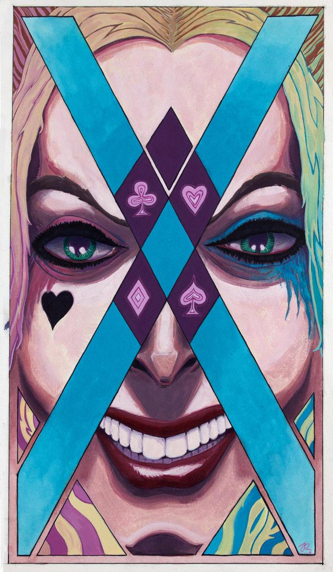 Harley Quinn by Jorge-Rosario