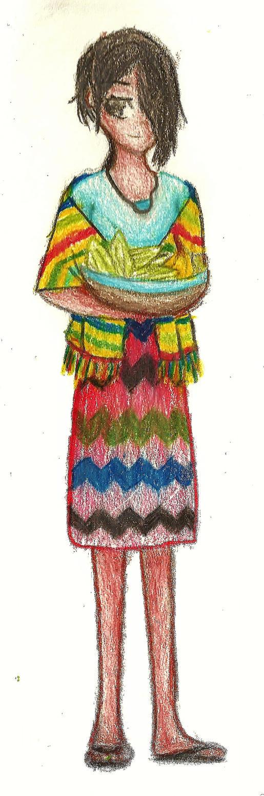 Hetalia OC Guatemala by Stormthecat