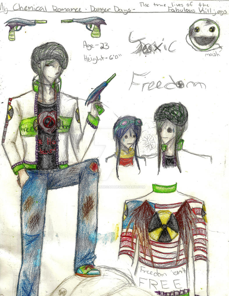 Killjoy OC: Toxic Freedom by Stormthecat