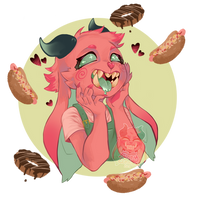 Food is love by Funnylunetta