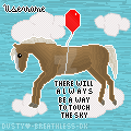 GIVEAWAY-HOWRSE: There will a l w a y s be a way.. by DustiiiBunniii